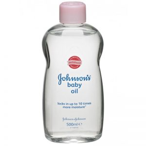 Johnson's Baby Oil 500ml, Pk6