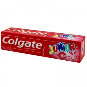 Colgate Junior T/Paste Strawberry, Pk 12