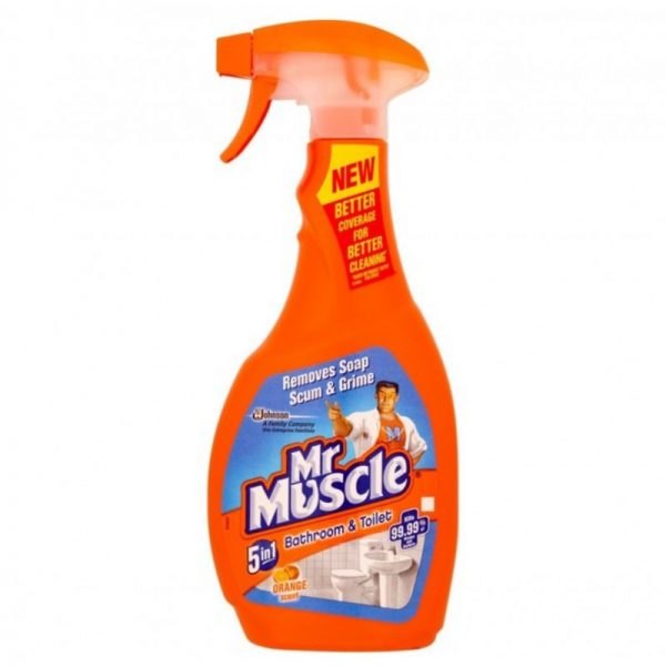 Mr Muscle Bath 5 in 1 750ml, Pk6