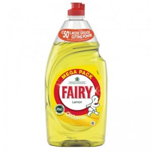 Fairy Liquid Lemon 870ml, Pk8