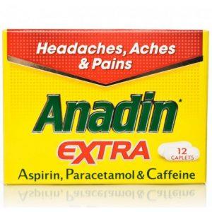 Anadin Extra 12S, Pk 12