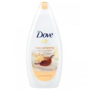 Dove Bath Shea Butter 750ml, Pk6