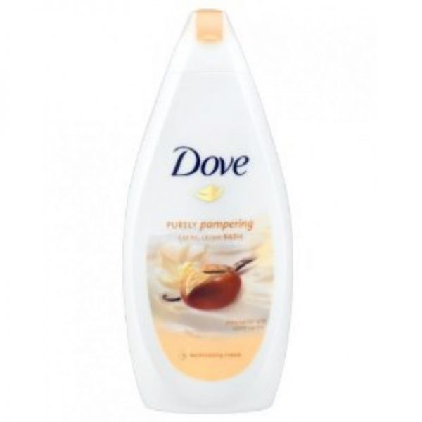 Dove Bath Shea Butter 750ml, Pk6