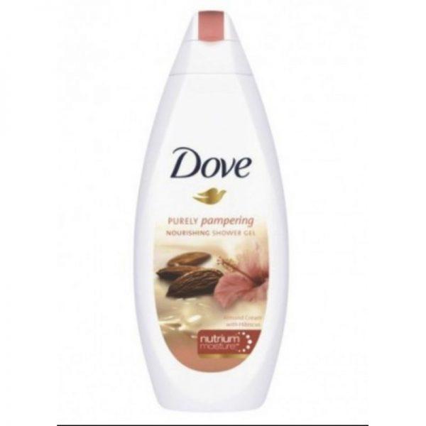 Dove Bath Almond 750ml, Pk6