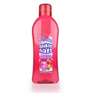 Kids Zone Cherry Almond Foam Bath 1Ltr, Pk6