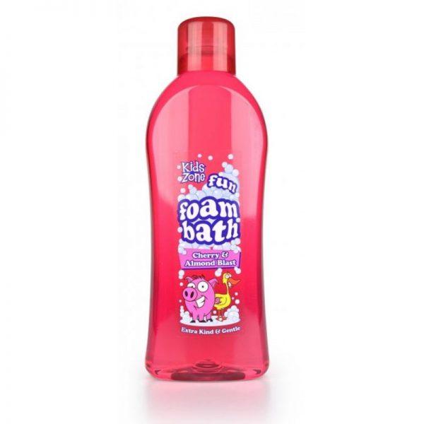 Kids Zone Cherry Almond Foam Bath 1Ltr, Pk6