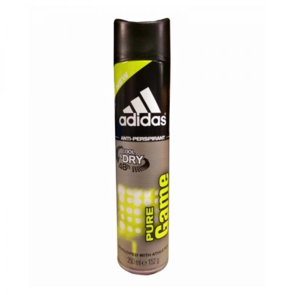 Adidas Action3 250ml Mens Pure Game, Pk6