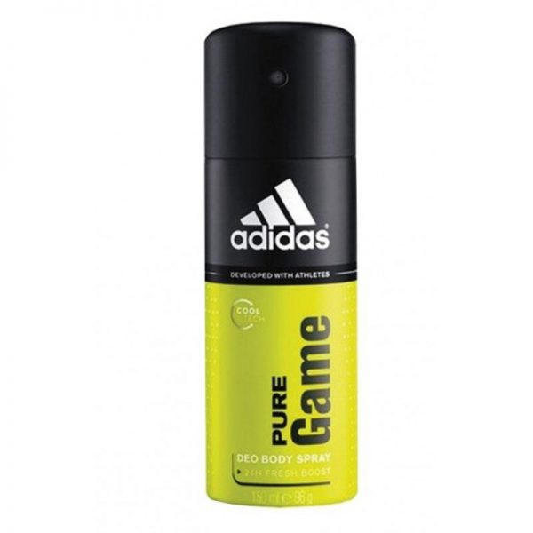 Adidas Body spray 150ml PureGame, Pk6