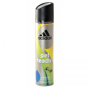 Adidas Men's Get Ready 250ml, Pk6