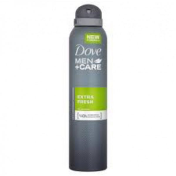 Dove Deo Mens 250ml Extra Fresh, Pk6