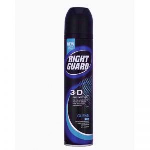 Rightguard Td5 Mens Clean 250ml, Pk6