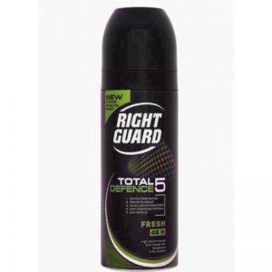 Rightguard Td5 Mens Fresh 150ml, Pk6